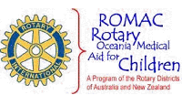 Logo of Rotary Oceania Medical Aid for Children